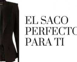 El saco o blazer perfecto para ti