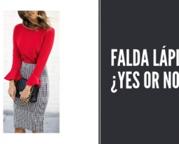 Falda lápiz. ¿Yes or no?