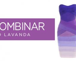 ¿Cómo combinar el color lila o lavanda?